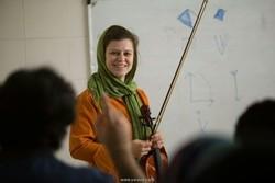 German violinist Susanne Zapf to hold master class in Tehran