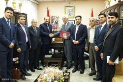 إبرام اتفاقية تعاون علمي بين ايران واقليم كردستان العراق/صور