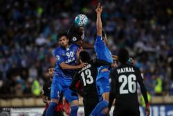 دیدار تیم های فوتبال استقلال ایران و الاهلی امارات
