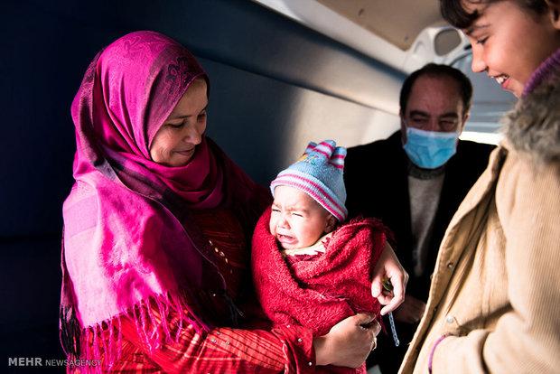 ارائه خدمات درمانی به پناهجویان سوری