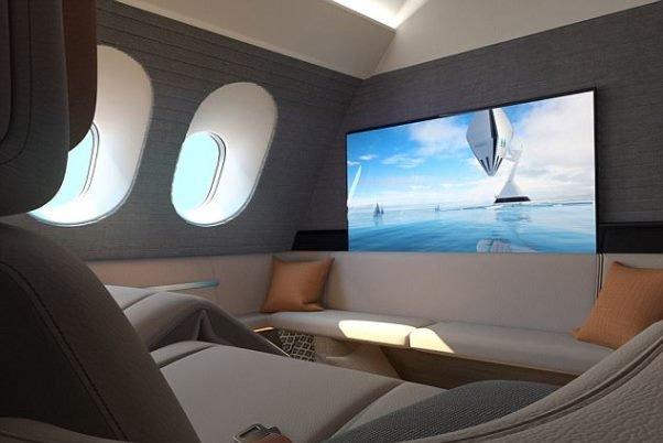 طرحی برای تبدیل کابین هواپیما به هتل!
