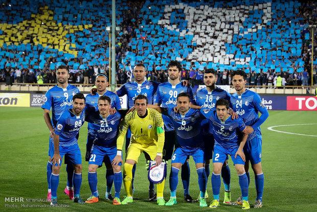 Esteghlal takımının Asya mücadelesinden kareler