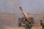 إشتباكات قوات الجيش السوري وحزب الله اللبناني مع داعش في منطقة القلمون
