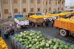 ۷۶ هزار تن محصولات کشاورزی از مرز مهران به عراق صادر شد