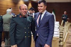 ملاقات سردار حسین دهقان وزیر دفاع ایران با وزرای دفاع صربستان