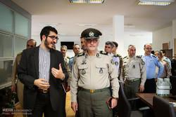 بازدید دانشجویان دافوس آجا از خبرگزاری مهر