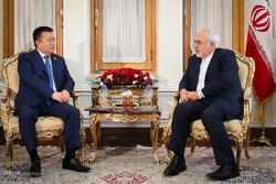 دیدار رئیس مجلس قرقیزستان با وزیر امور خارجه