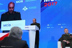 سخنرانی سردار حسین دهقان وزیر دفاع ایران در ششمین نشست بین المللی مسکو2017