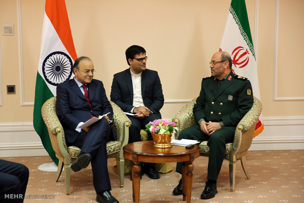 Dehghan meets with Indian, Serbian counterparts