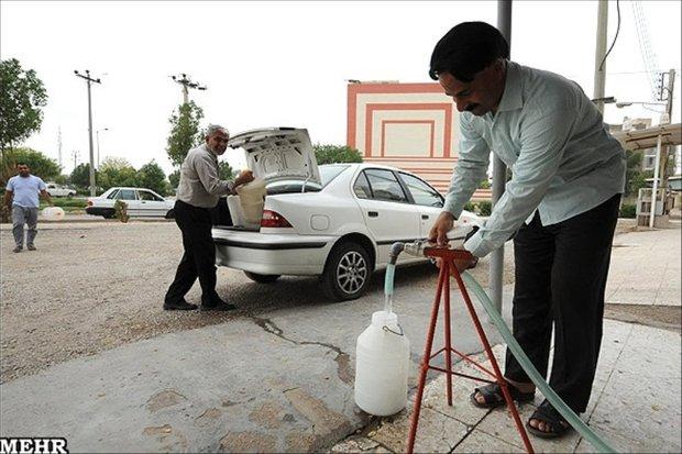 کمبود آب شرب در خرمشهر/فروش آب شیرین هم محدود شد