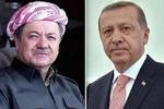 تماس تلفنی اردوغان و ایلدریم با بارزانی درباره حمله هوایی ترکیه