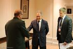 ایران اور روس کے وزراء دفاع کی ملاقات