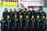 والیبال دختران با قهرمانی گرگان به پایان رسید