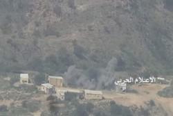 حمله به مواضع سعودی در جیزان