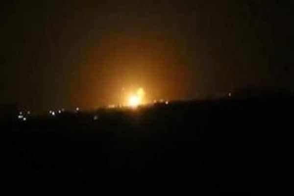 Şam Havalimanı yakınında patlama: Video