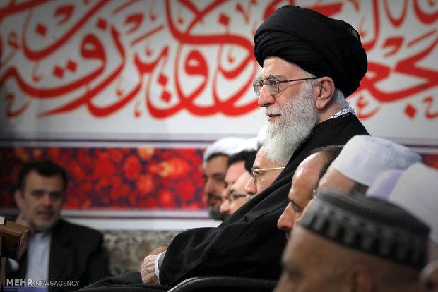 İnkılap Rehberi'nin Kur'an yarışmacılarıyla görüşmesi