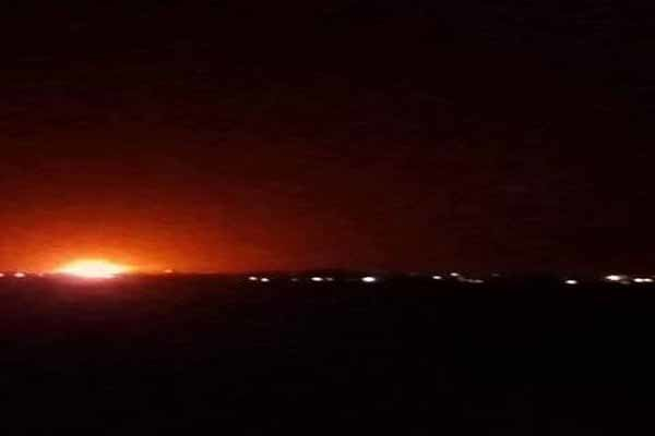 Israeli Missile Shoots Down Syrian Aircraft That Crossed Border