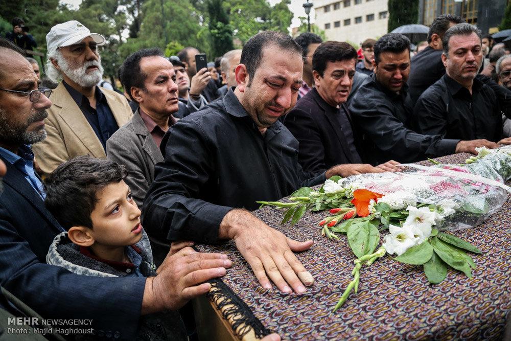 مراسم تشییع پیکر مرحوم نقی سیف جمالی