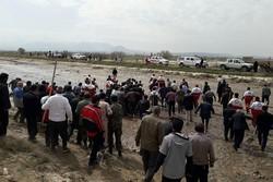 جستجوی اجساد مفقودان حادثه سیل