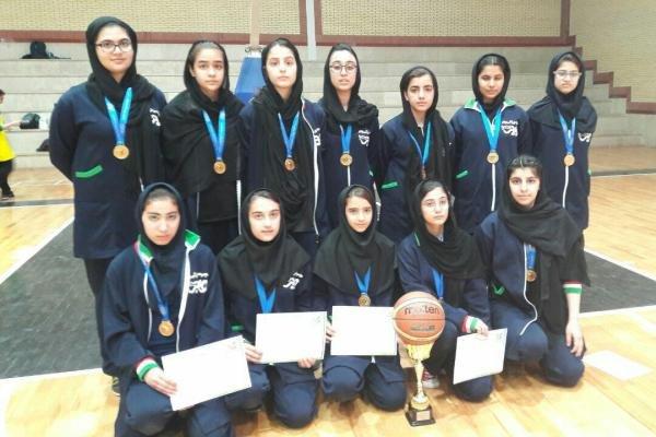 گرگانیها مدال طلای بسکتبال دختران را به گردن آویختند