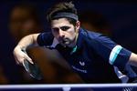 Nima Alamian qualifies for quarter-finals at ITTF