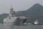 رزم ناو آبی خاکی فرانسه وارد بندر«ساسبو» ژاپن شد