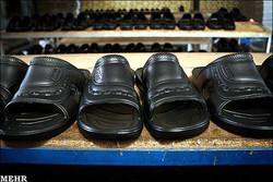تولید کفش ماشینی و دمپایی