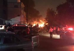 9 قتلى وجرحى في تفجير انتحاري بمنطقة الكرادة وسط بغداد