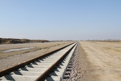 راه آهن همدان