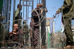 فعالان اسکاتلندی به نشانه همبستگی با اسرای فلسطینی تظاهرات کردند