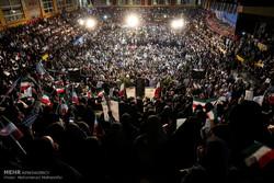 أول تجمع إنتخابي للمرشح الرئاسي إبراهيم رئيسي