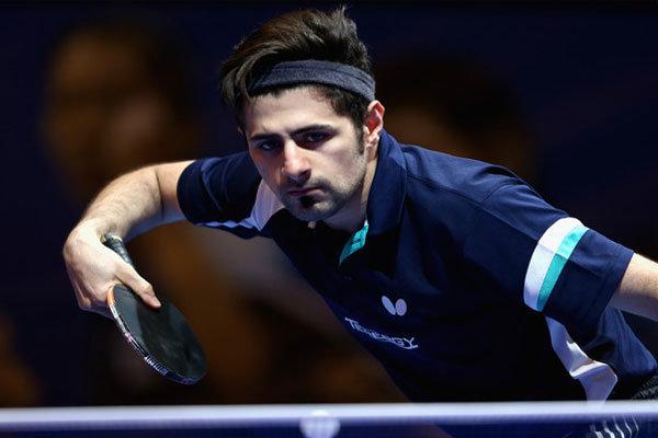 """اللاعب الإيراني """"عالميان"""" يتأهل إلى الدور ربع النهائي في بطولة آسيا لكرة الطاولة"""