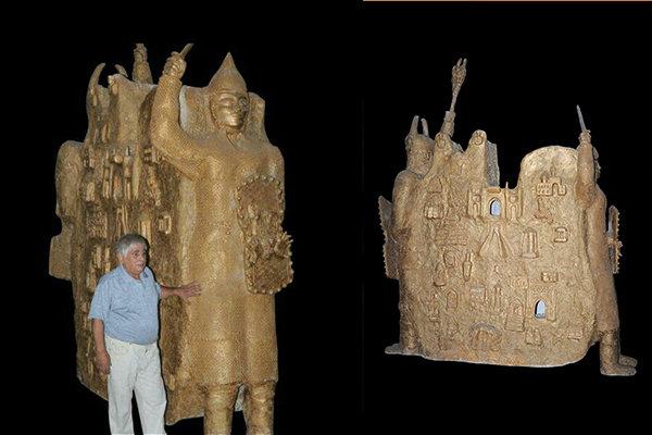 بازگشت به عرصه هنر پس از چهار دهه/ مجسمههایم داستان دارد