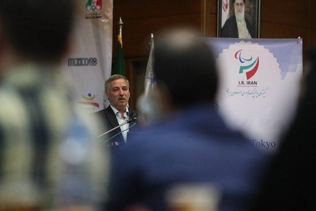 مسعود اشرفی دبیر کل کمیته ملی پارالمپیک
