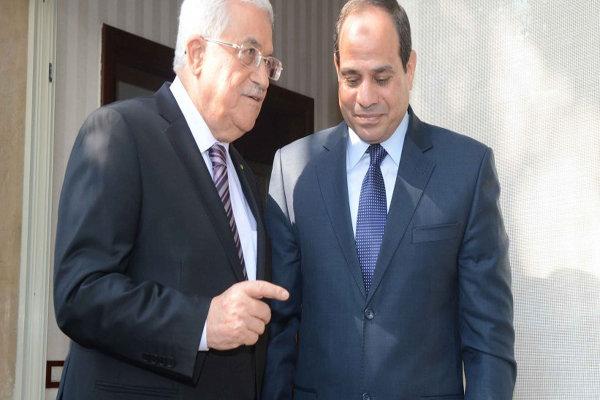 «محمود عباس» و «عبدالفتاح السیسی»