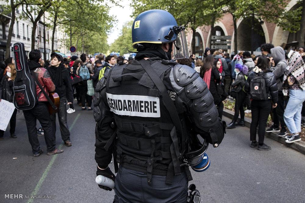 اعتراض به نتایج انتخابات در فرانسه