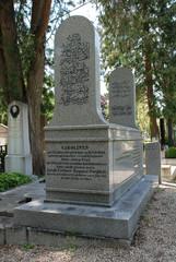 Austrian Orientalist Joseph Freiherr von Hammer-Purgstall's tomb