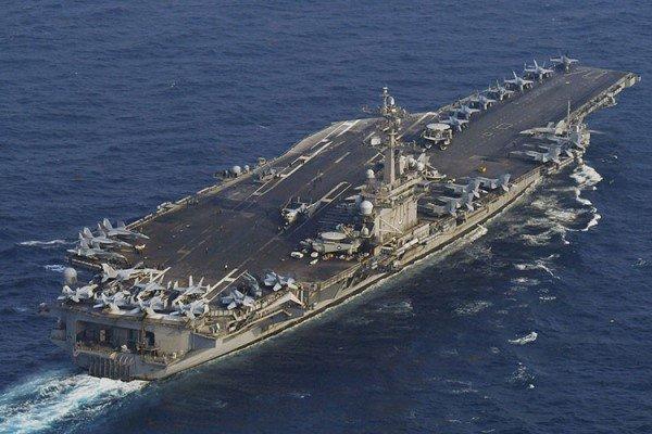 أمريكا ترسل حاملة طائرات إلى شبة الجزيرة الكورية