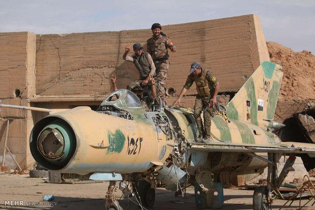 گرفتن فرودگاه نظامی رقه از داعش