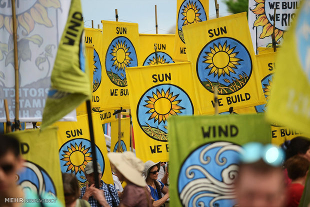 تظاهرات علیه تغییرات آب و هوایی در نقاط مختلف جهان