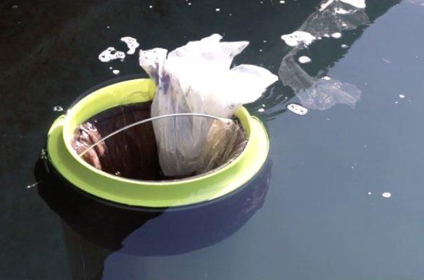 سطل آشغال شناور برای بنادر