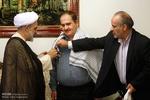 چهار هیئت از جانب رهبر انقلاب با جانبازان دیدار کردند