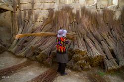 بافته هایی بر چوب مروار
