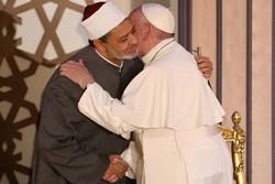 دیداری پاپ فڕانسیس و شێخی ئهزههر لە قاهیرە