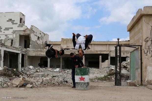 ورزش پارکور در سوریه