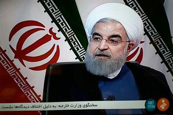 روحاني: امريكا لم تتراجع حتى الآن عن سياساتها الخبيثة