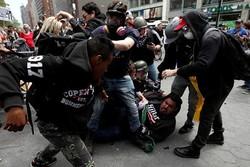 بازداشت ۱۴ نفر در راهپیمایی «روز کارگر» در نیویورک