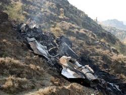 پاکستانی فضائیہ کا طیارہ گر کر تباہ/ پائلٹ محفوظ