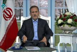 انسحاب المرشح الإصلاحي اسحاق جهانغيري لصالح روحاني