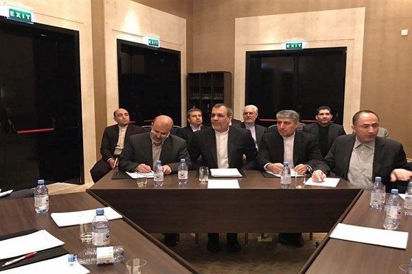 İran heyeti Kazakistan'a ayak bastı